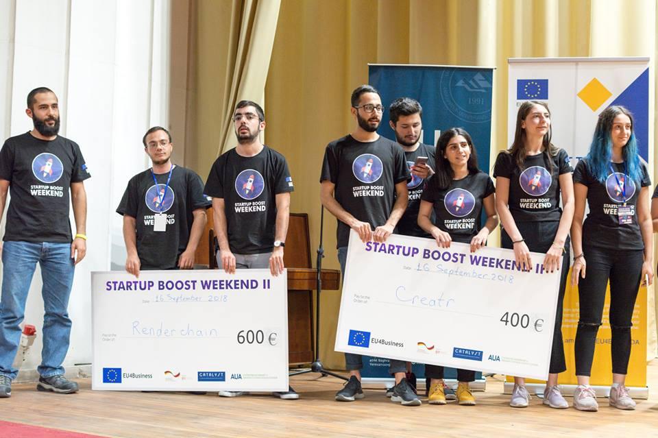 Հայտնի են Startup Boost Weekend 2018-ի հաղթողները