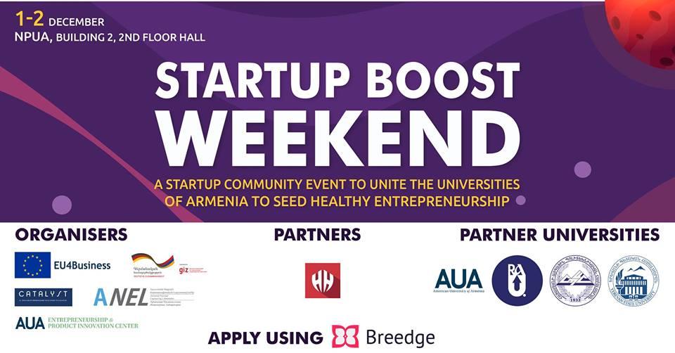 Startup Boost Weekend Vol3՝ ՀԱՊՀ-ում