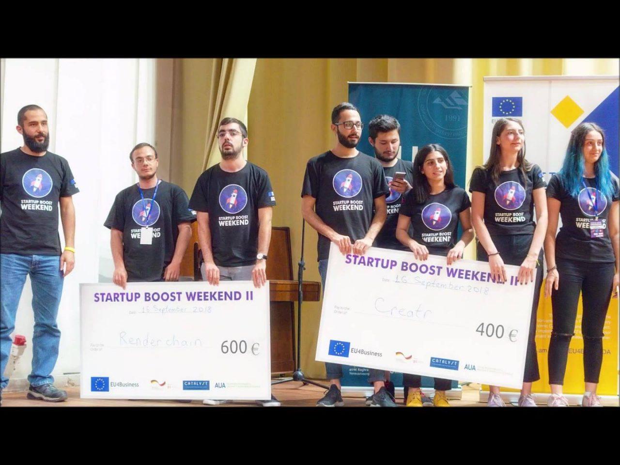 Startup Boost Weekend Vol4 մրցույթ՝ ԵՊՀ-ում