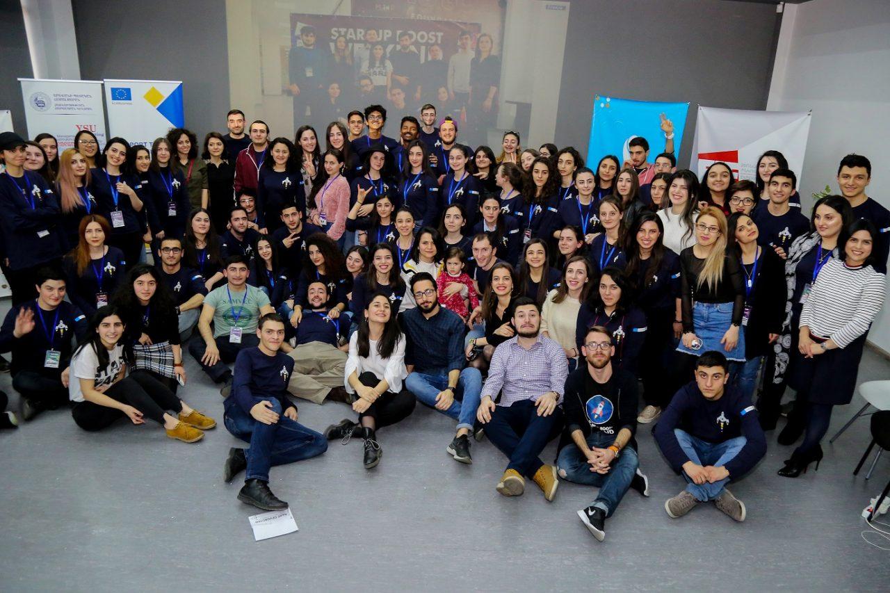 Startup Boost Weekend Vol4-ին մասնակցեց 120 ուսանող