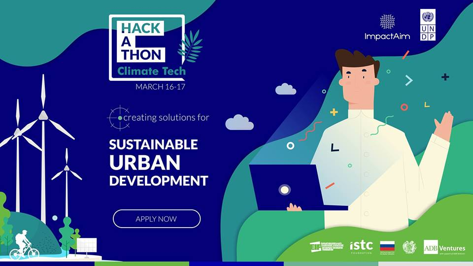 Climate Tech Hackathon vol. 2. Քաղաքային կայուն զարգացում