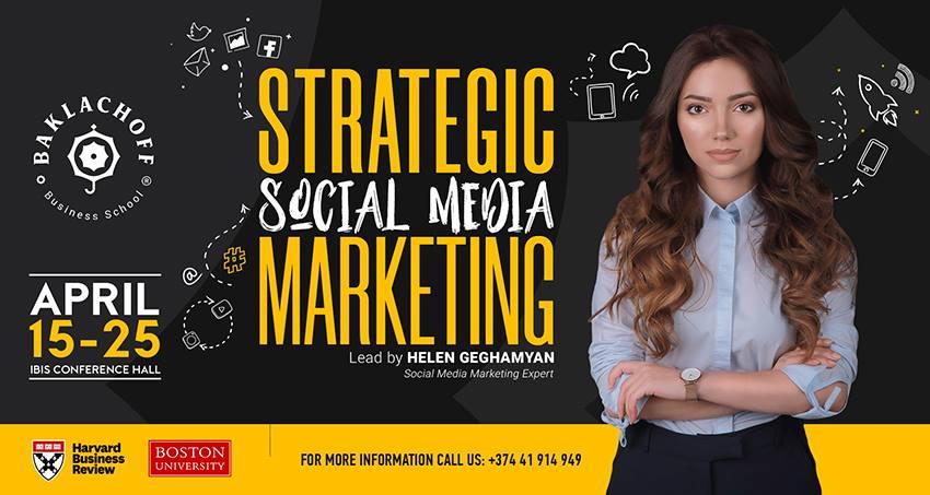 Սոցիալական ցանցի ռազմավարական մարքեթինգ. Baklachoff Business School