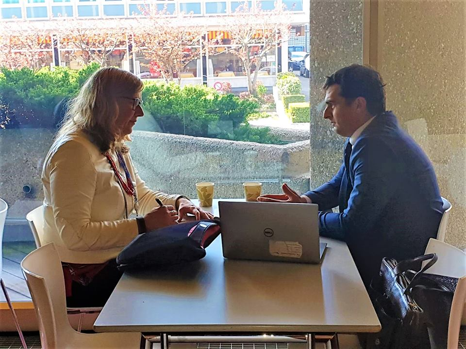 Հակոբ Արշակյանը Ժնևում Google-ի ներկայացուցչի հետ քննարկել է YouTube-ի և Google-ի հետ կապված խնդիրները