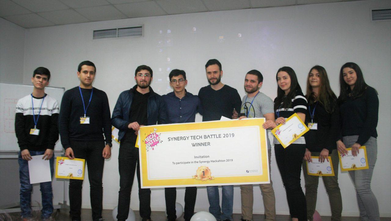 Սիներջիում անցկացվեց Տեխնո Բեթլ մրցույթը