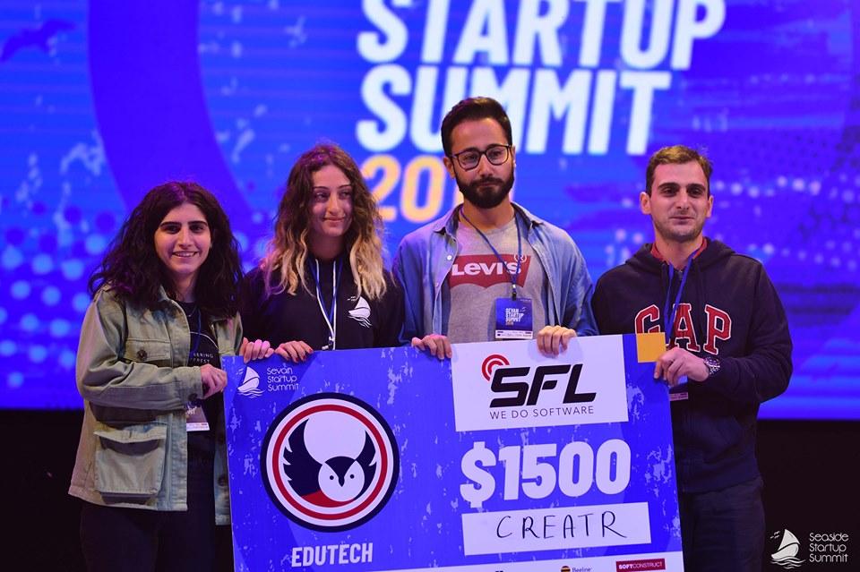 Հայտնի են Sevan Startup Summit-ի track-երի հաղթողները