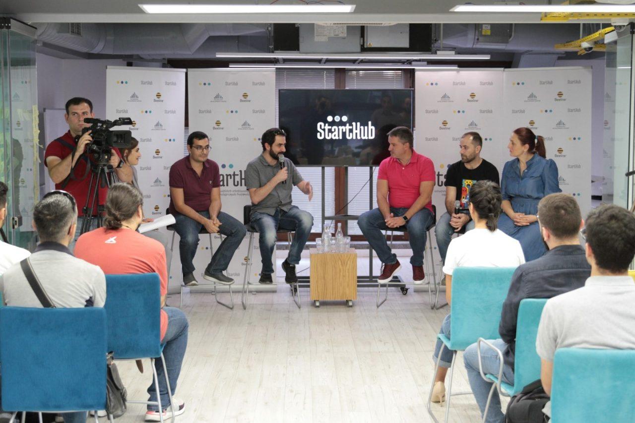 «Խաղային ստարտափները Հայաստանում»՝ տեղի ունեցավ Starthub Offline հերթական հանդիպումը