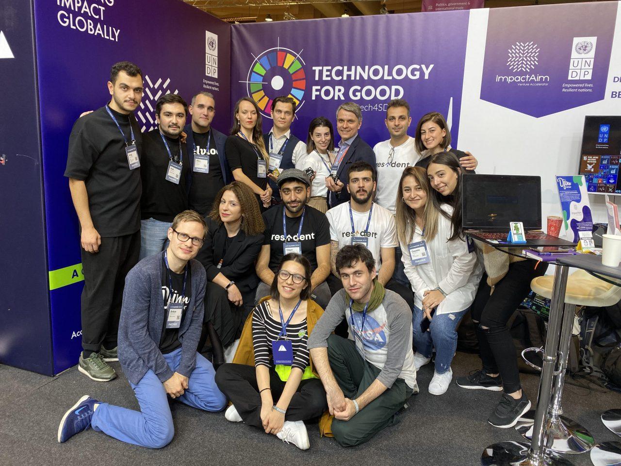 ՄԱԶԾ-ի ImpactAIM աքսելերացիոն ծրագրերի ստարտափները նոյեմբերին մասնակցեցին երեք միջազգային համաժողովների