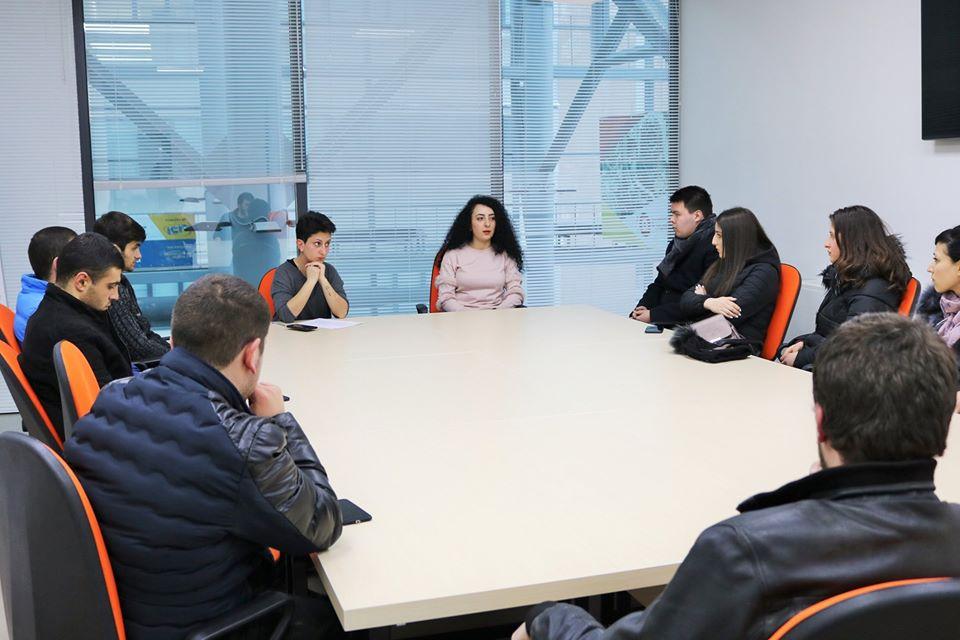 Տեղի ունեցավ «Web ծրագրավորման հիմունքներ» դասընթացի տեղեկատվական հանդիպումը