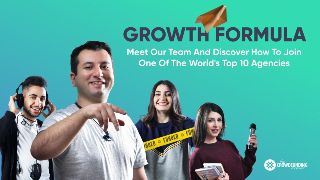 The Crowdfunding Formula-ն մեկնարկում է Growth Formula 3-ամսյա պրակտիկ ծրագիրը