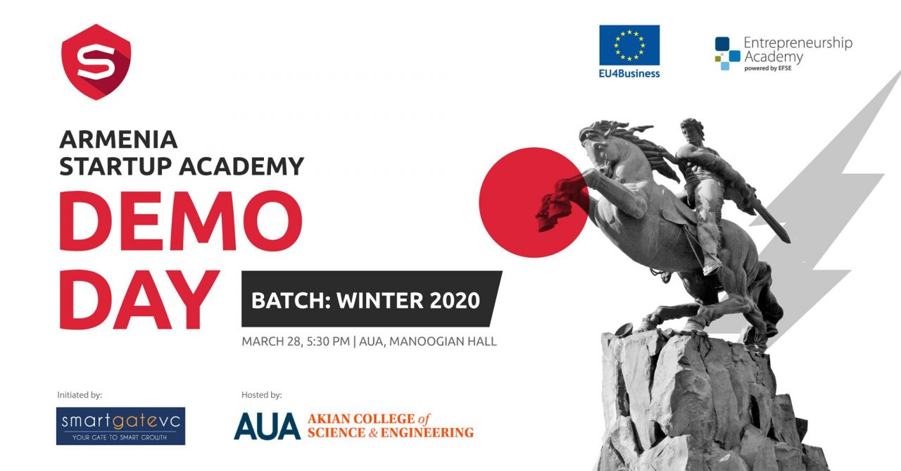 Armenia Startup Academy-ի ստարտափները ելույթ կունենան ներդրողների առջև