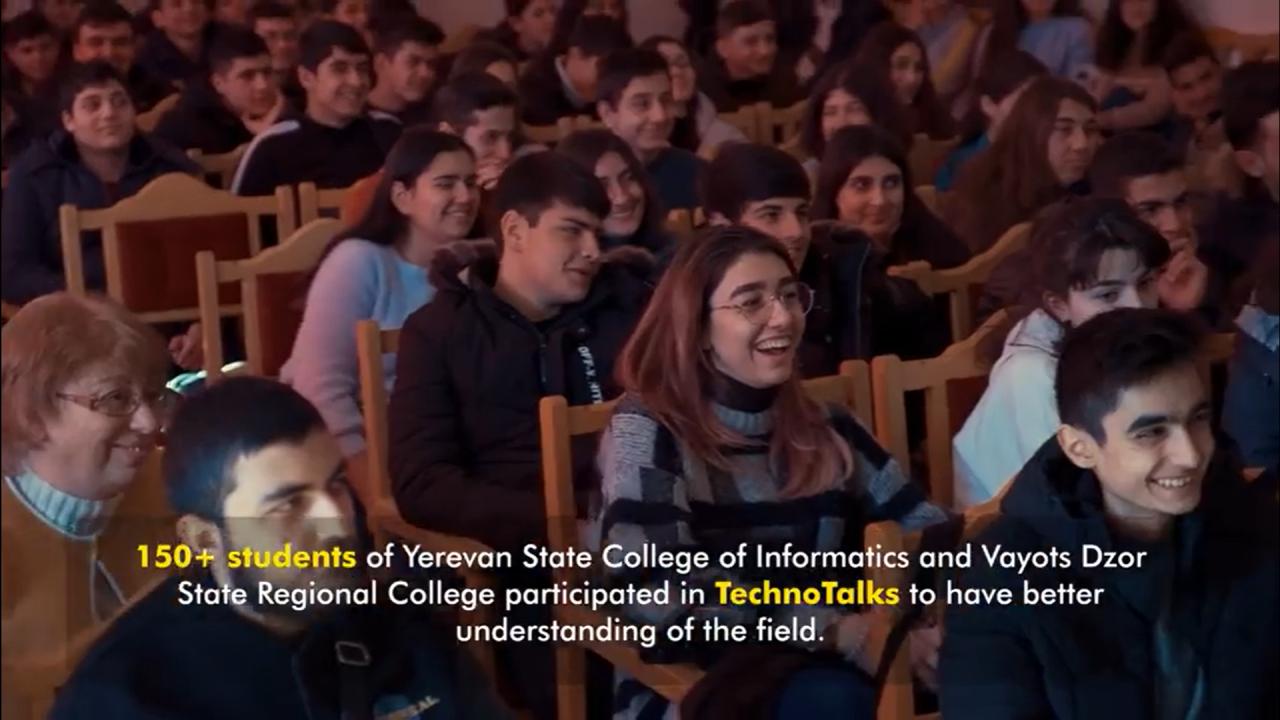150-ից ավել ուսանող մասնակցել է տեխնոզրույցների