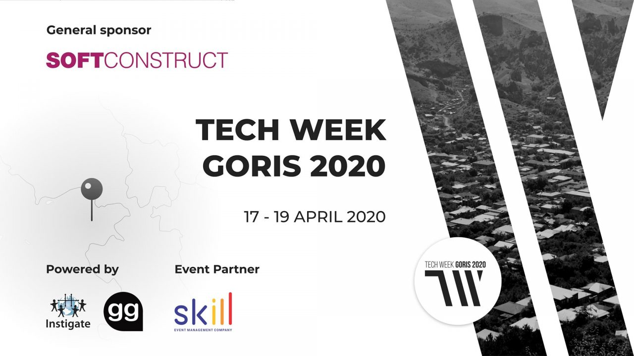 Տեղի կունենա Tech Week Goris 2020