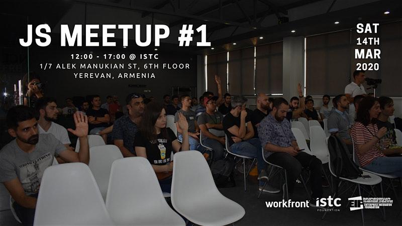 Տեղի կունենա առաջին JavaScript Armenia Meetup-ը