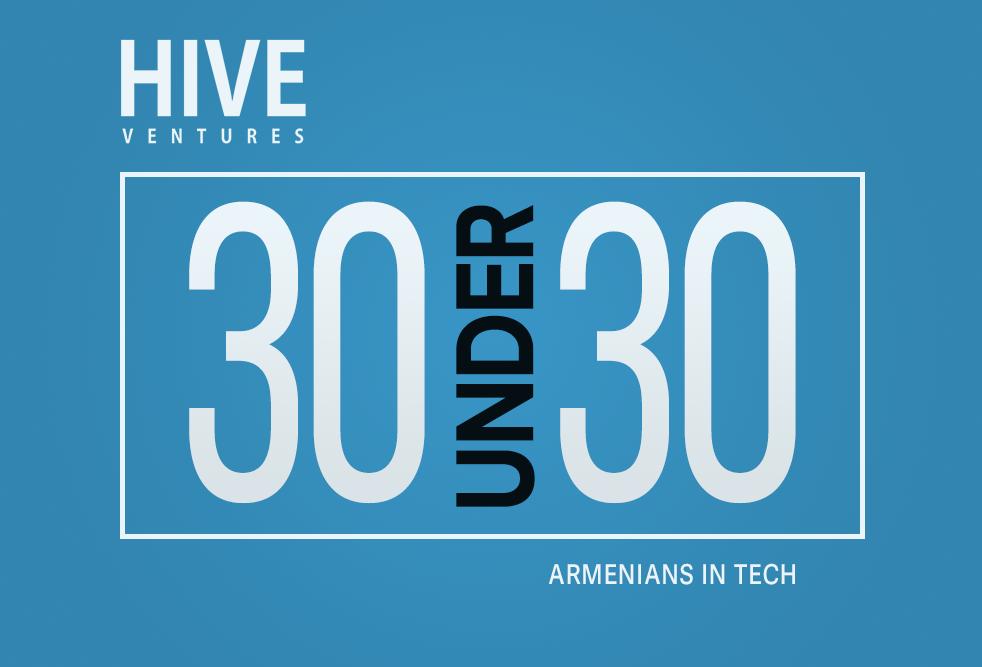 HIVE-ը հայտարարել է HIVE 30 Under 30 Armenians in Tech մրցանակաբաշխության մասին
