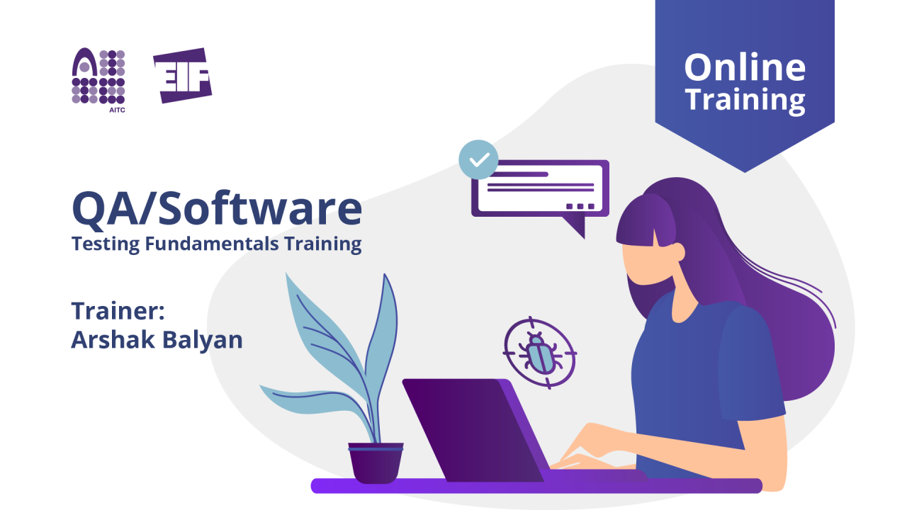 Մեկնարկում է «QA/Software Testing Fundamentals» առցանց դասընթացը