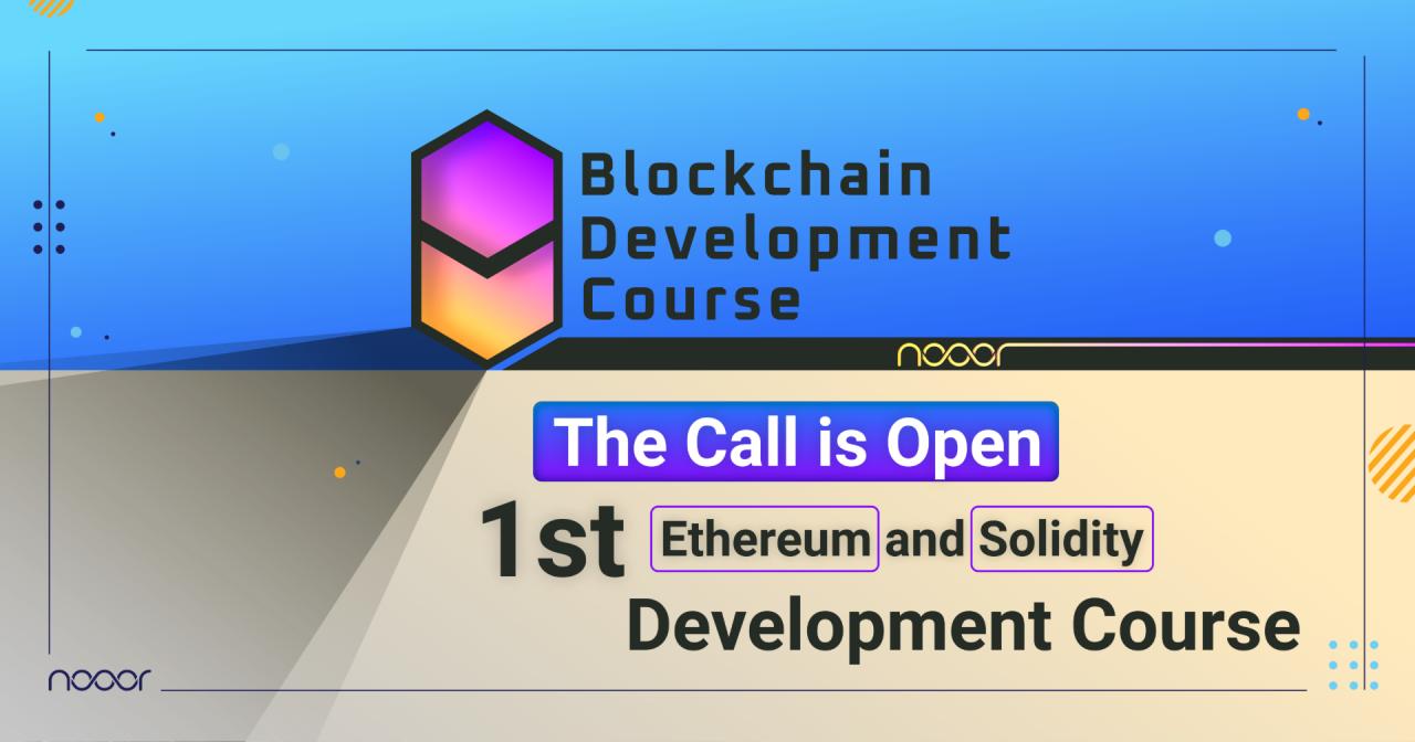 Nooor Blockchain Armenia-ն մեկնարկում է Solidity ծրագրավորման կուրսը