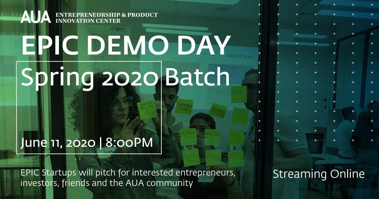 Տեղի կունենա EPIC ինկուբացիոն ծրագրի դեմո օրը
