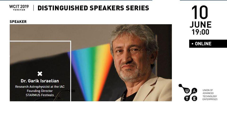 WCIT 2019: կհեռարձակվի Դոկտոր Գարիկ Իսրայելյանի ելույթը