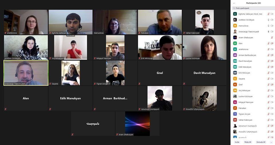 Ավարտվեցին «Yandex ծրագրավորման դպրոց»-ի դասընթացները