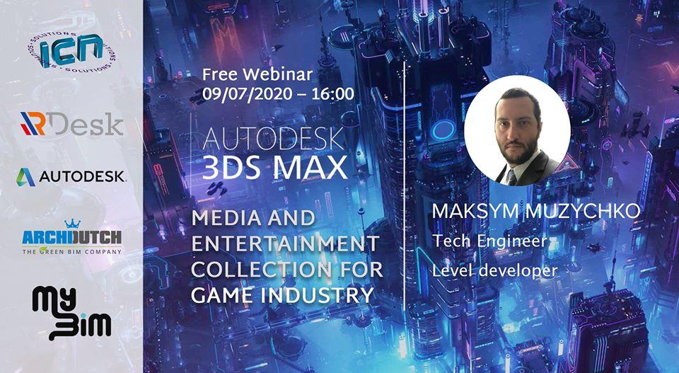 Տեղի կունենա «3Ds Max: MEC for Game Industry» թեմայով դասընթացը