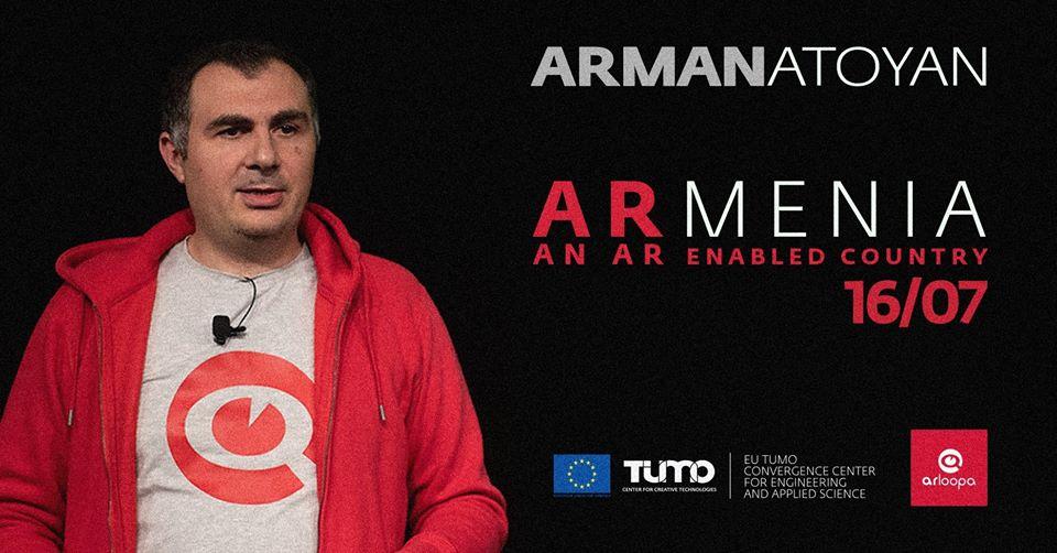 Արման Աթոյան. Pro Talks Թումո Լաբորատորիաներում