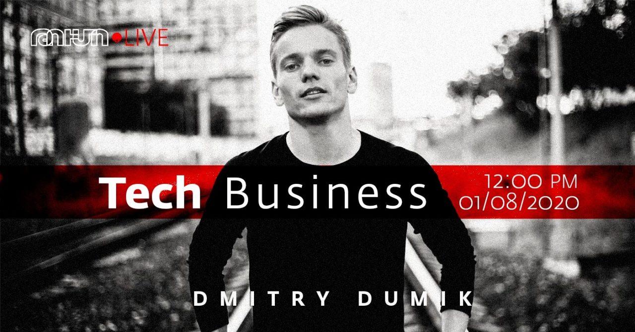TUMO Live Chatfuel ստարտափի հիմնադիր Դմիտրի Դումիկի հետ