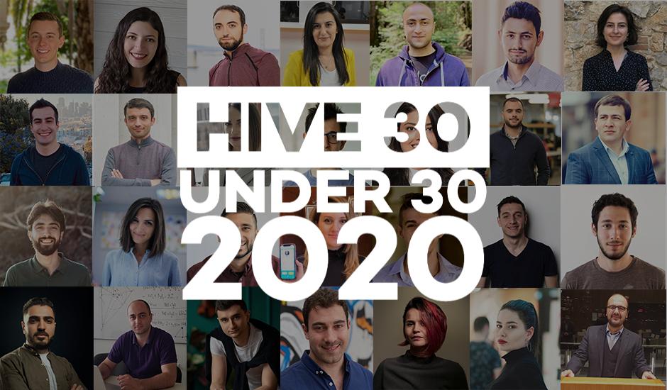 Հայտնի են HIVE 30 Under 30 Armenians in Tech մրցանակաբաշխության ֆինալիստները