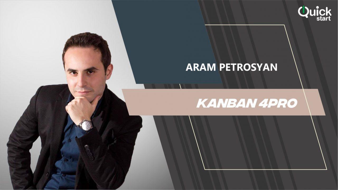 Quick Start-ն այսօր կանցկացնի Kanban 4PRO դասընթաց
