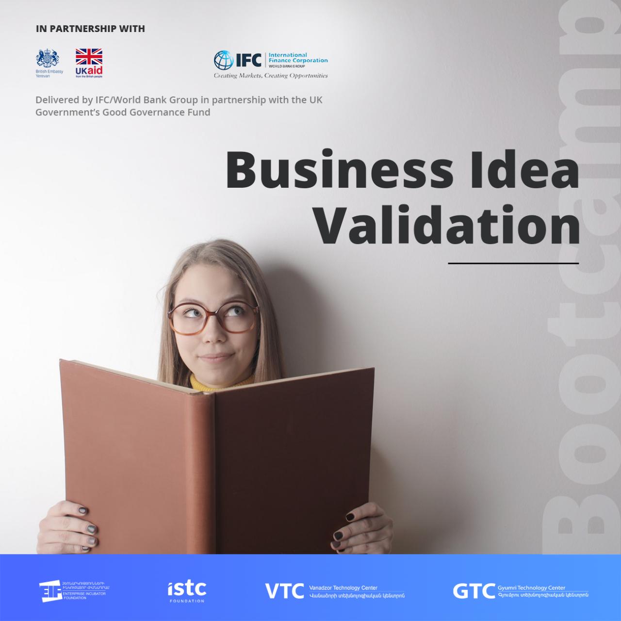 Բիզնես գաղափարի ձևավորում և գաղափարի վերլուծություն. մեկնարկում է Bootcamp-ը