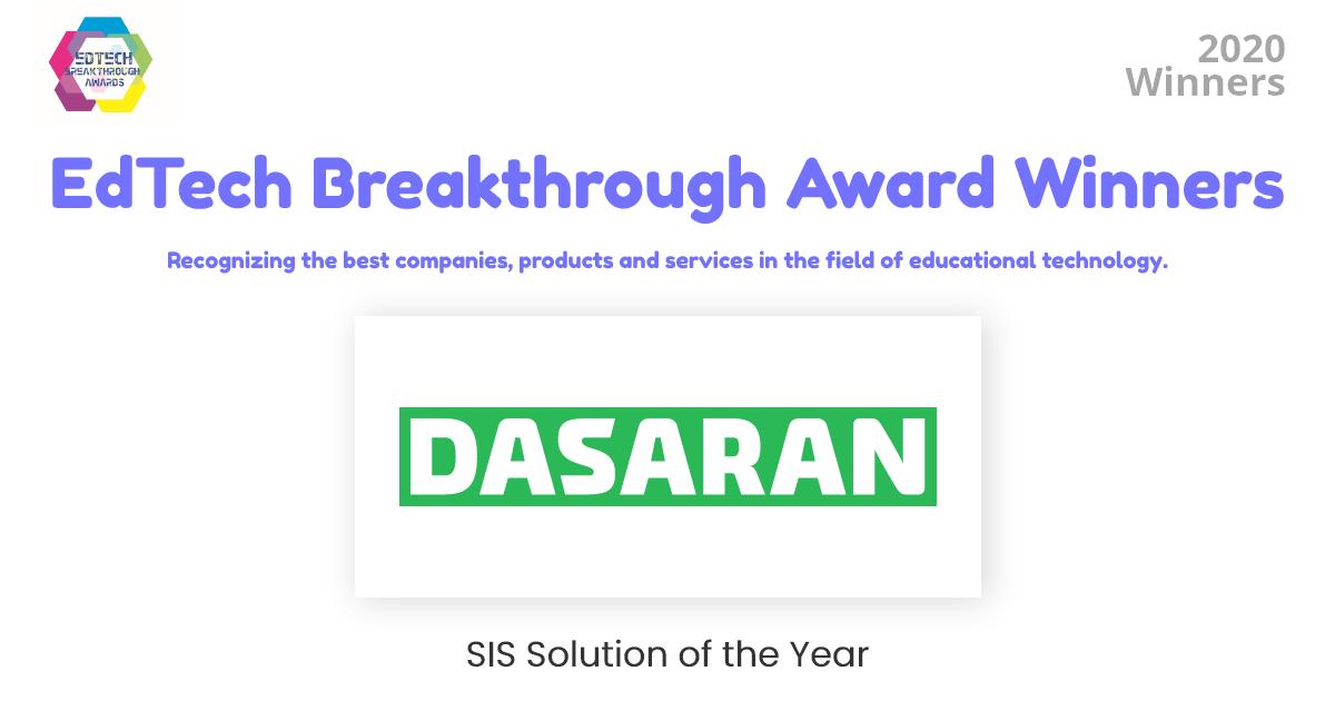EdTech Breakthrough ամենամյա միջազգային մրցույթում Dasaran-ը ճանաչվել է հաղթող