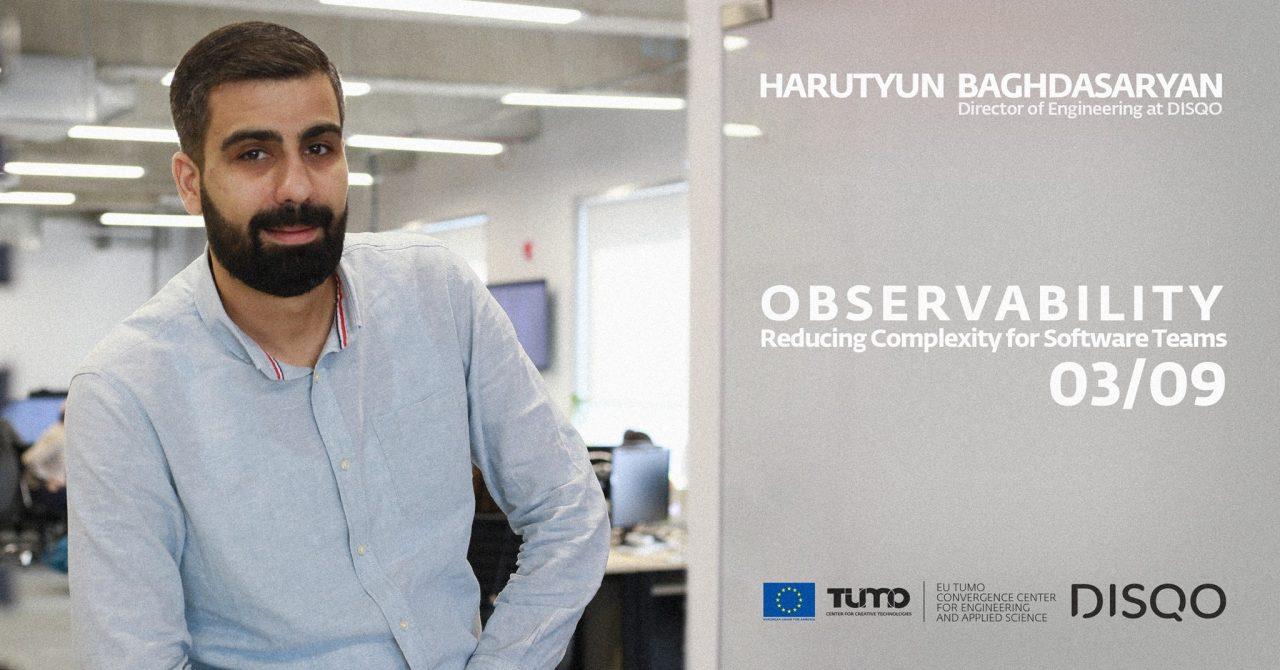 Pro talks at Tumo labs-ը վերադառնում է. նախագծի հերթական հյուրը Հարություն Բաղդասրյանն է