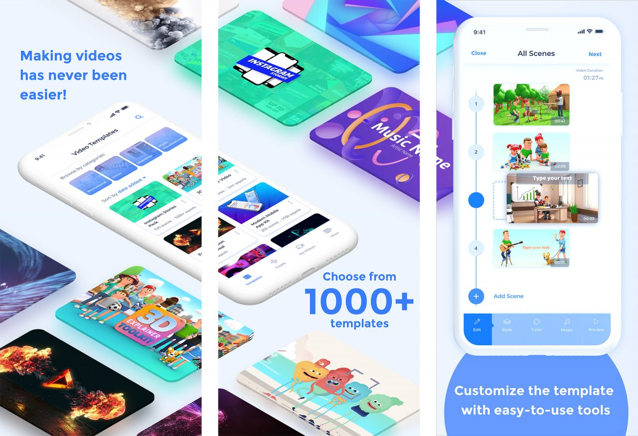 Հայկական Renderforest ընկերությունը գործարկել է տեսանյութեր պատրաստելու հավելված iPhone-ի օգտատերերի համար
