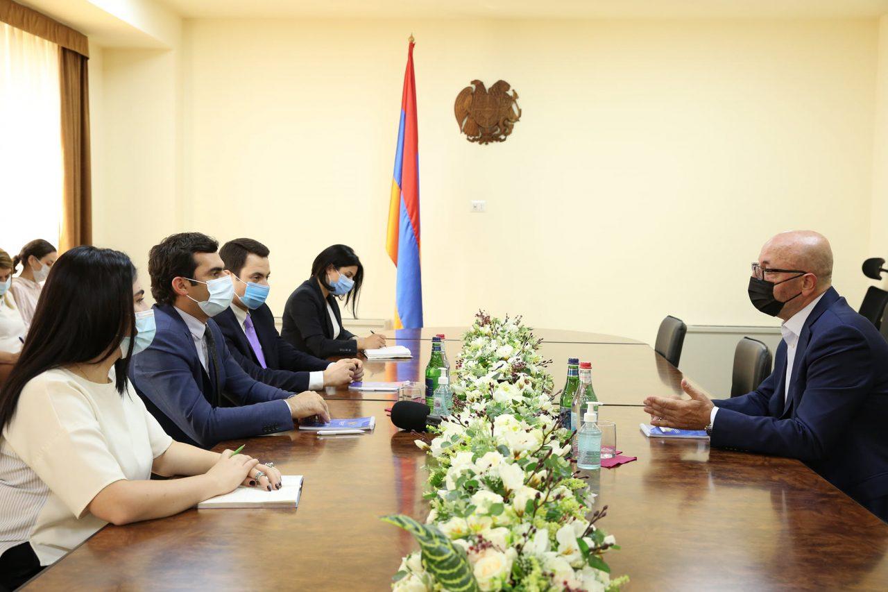 Ամերիկյան տեխնոլոգիական ընկերությունը նախատեսում է Հայաստանում հիմնել Տեխնոլոգիական լուծումների գլոբալ կենտրոն