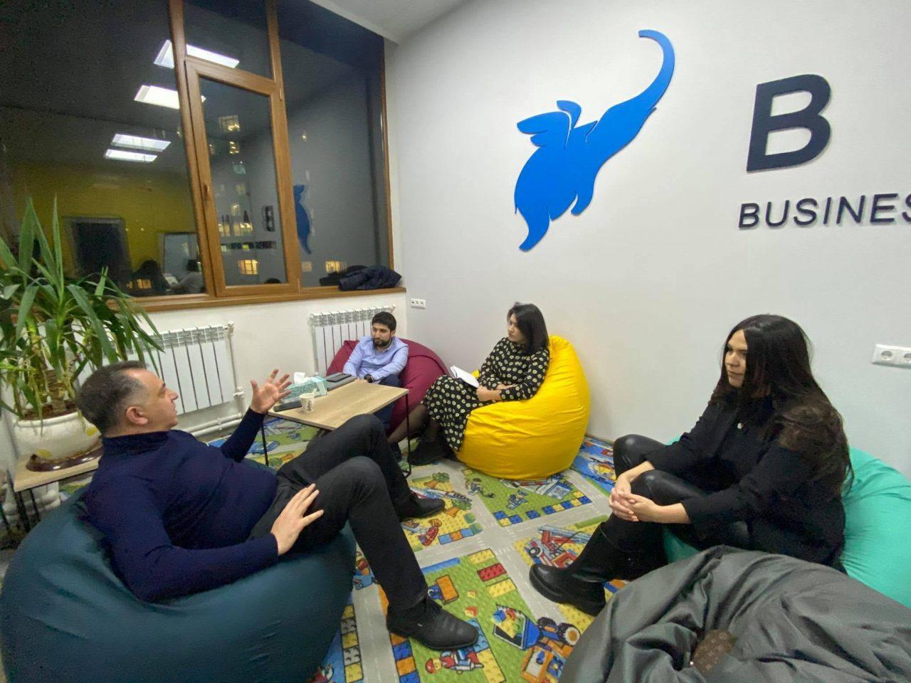 Beeline Startup Incubator-ում մենթորների հետ հանդիպումներ են եղել