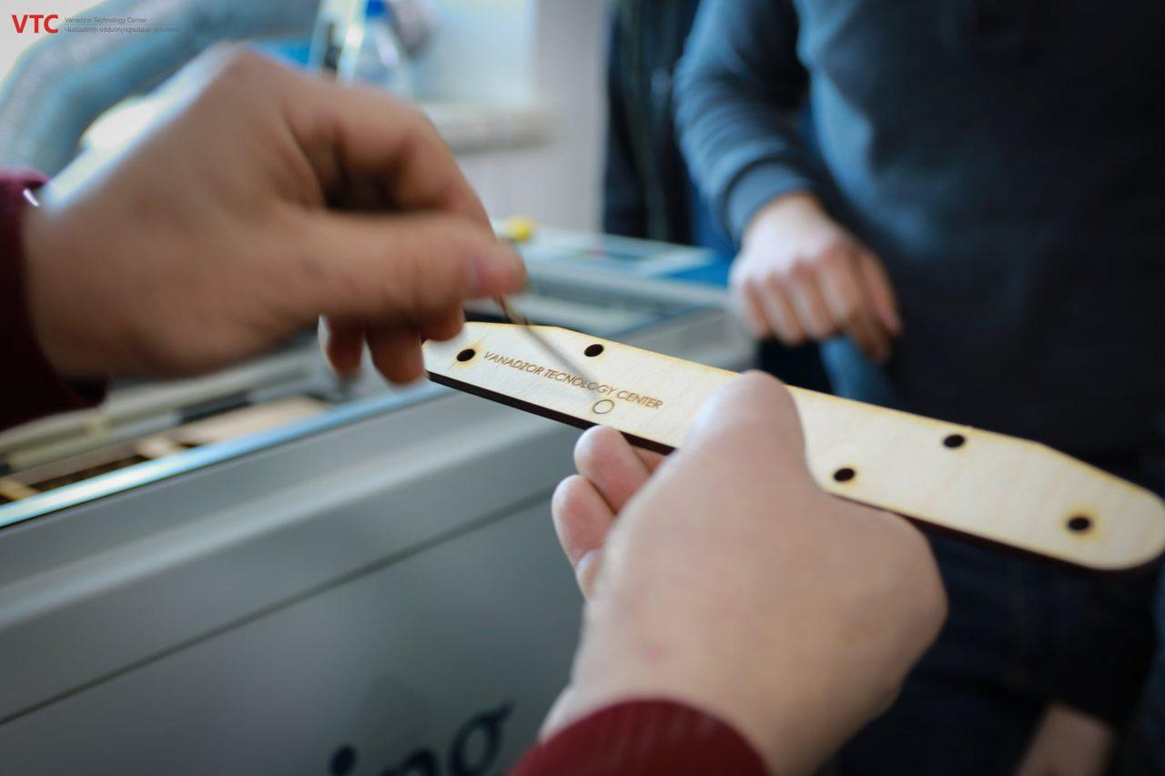 ՎՏԿ տեխնոլոգիական դպրոցում 3D մոդելավորում առարկայի գիտելիքներն արդեն օգտագործվում են գործնականում