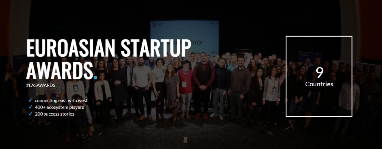 EuroAsian Startup Awards-ը օնլայն քվեարկություն է անցկացնում. անվանակարգերում ներկայացված են նաև հայկական ընկերություններ