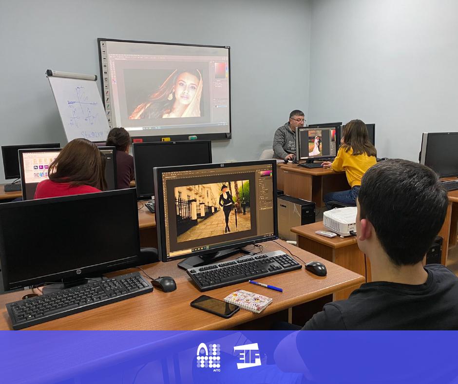 AITC/EIF կենտրոնում ընթանում է «Adobe Photoshop & Illustrator» օֆլայն դասընթացը