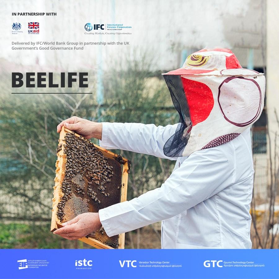 Ձեռներեց կանայք ներկայացնում են Beelife ծրագիրը