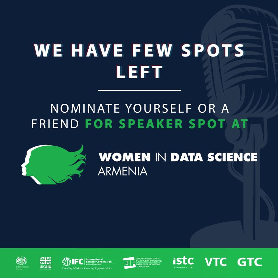 ISTC-ն հրավիրում է «Women in Data Science» միջազգային գիտաժողովի խոսնակ