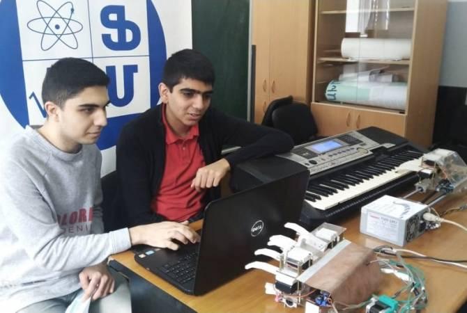 «Ֆիզմաթ-Հայաստան» թիմն արժանացել է մեդալների Վորոնեժում կայացած «Ռոբոարտ-2021» մրցույթ-փառատոնից