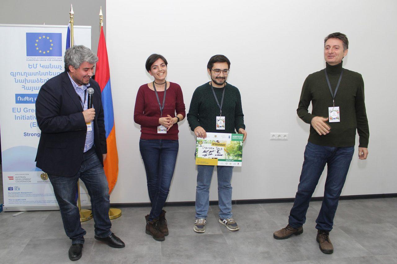 Garoon հավելվածը Ագրոտեխնոլոգիական ստարտափ մրցույթի հաղթողներից է