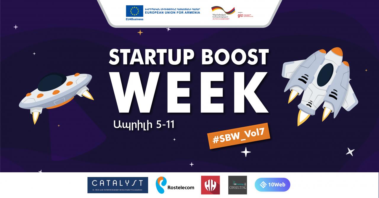 Բացվել են Startup Boost Week միջոցառման դիմումների հայտերը