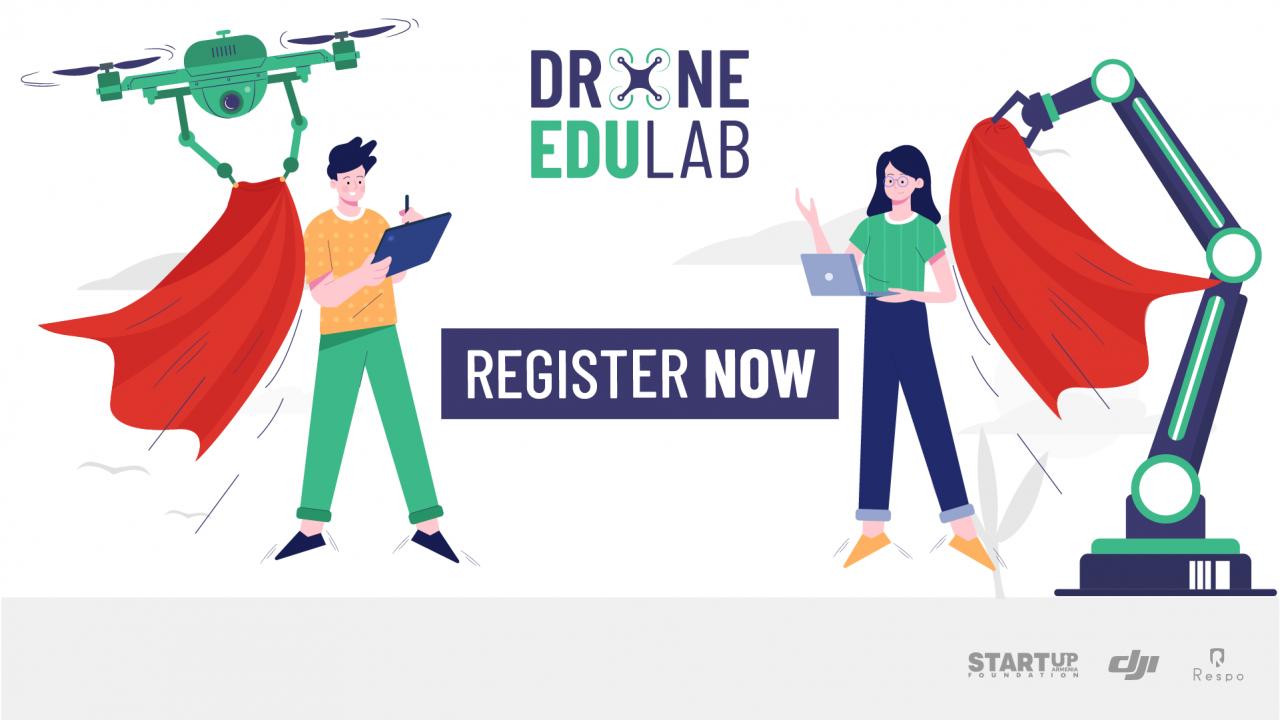 Drone EduLab-ի դասերը մեկնարկում են