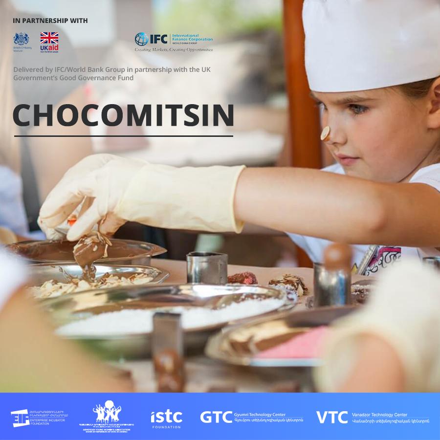 Ձեռներեց կանայք ներկայացնում են Շոկոմիցինը՝ սոցիալական խնդիր լուծող շոկոլադի արտադրությունը