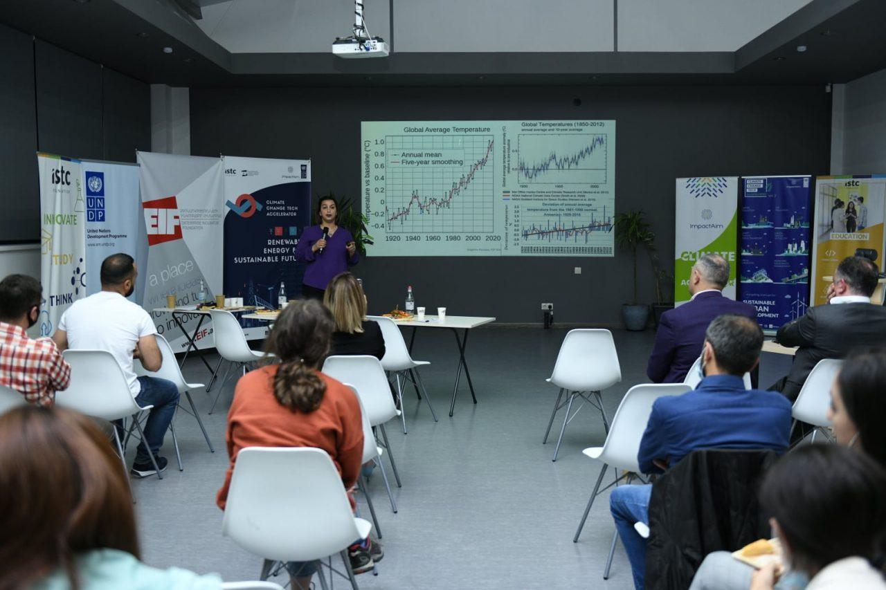 Տեղի է ունեցել ՄԱԶԾ ImpactAim Կլիմայական փոփոխությունների տեխնոլոգիական աքսելերատոր ծրագրի ամփոփիչ Դեմո օրը
