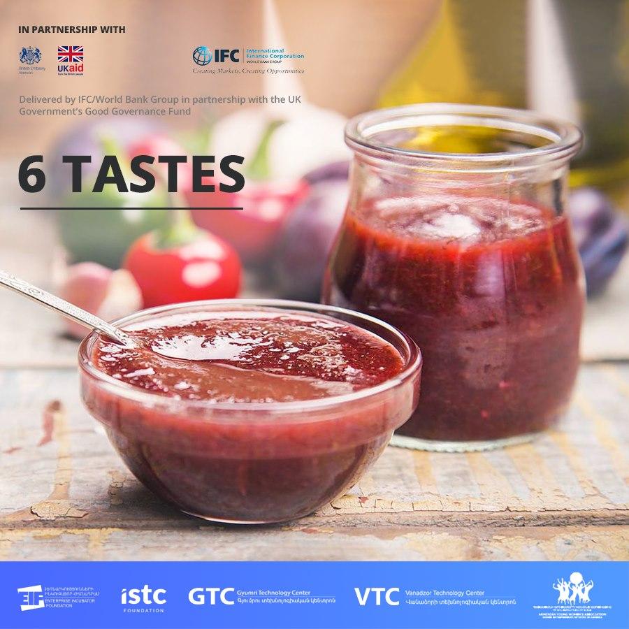 Ձեռներեց կանայք ներկայացնում են «6 tastes» ապրանքանիշը