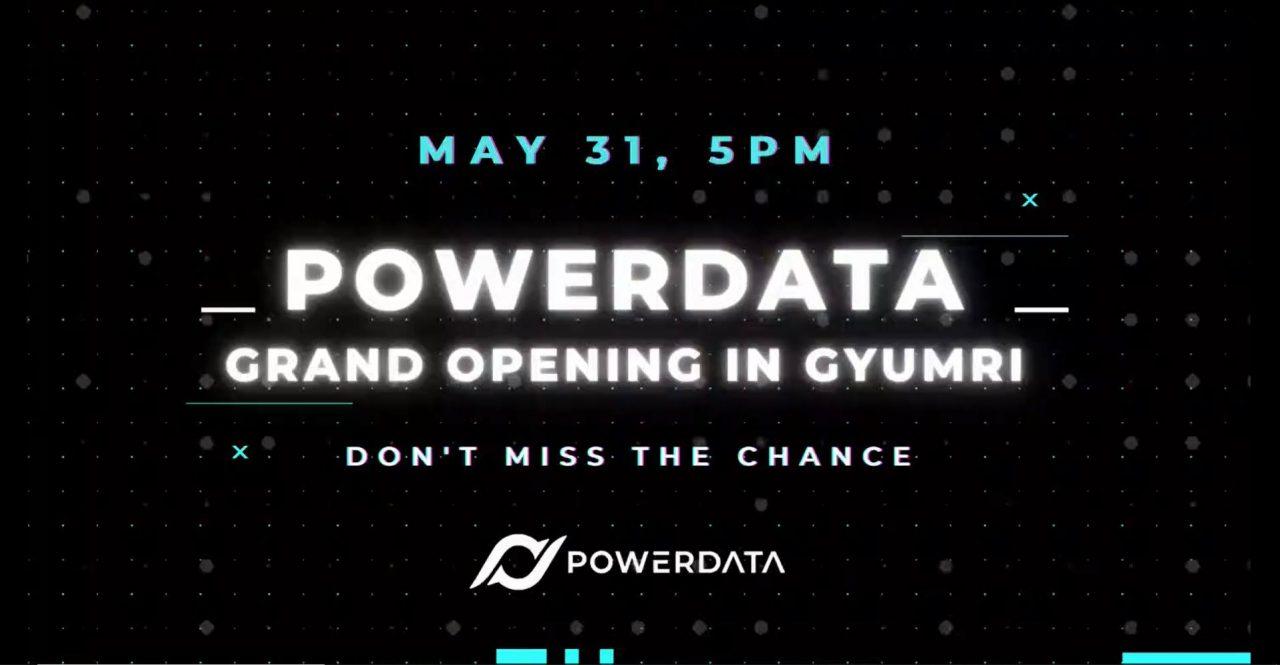Powerdata ընկերությունը նախատեսում է մասնաճյուղ բացել ԳՏԿ-ում