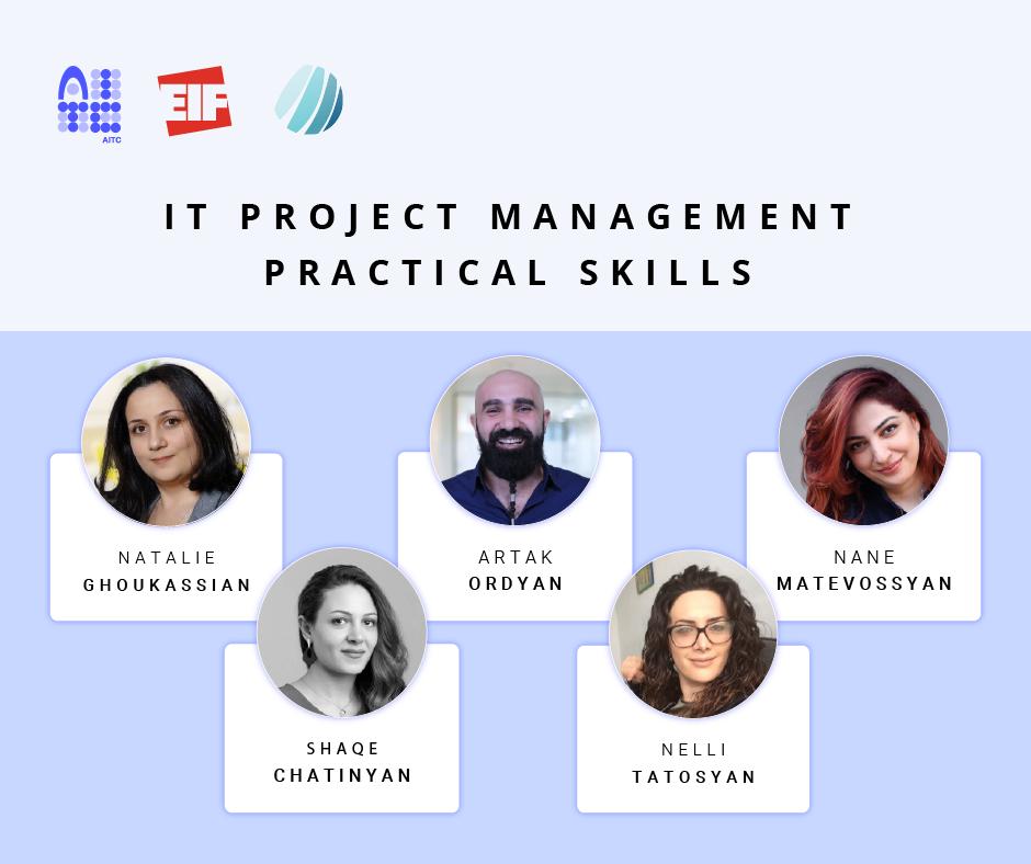 Մեկնարկում է IT Project Management դասընթացը