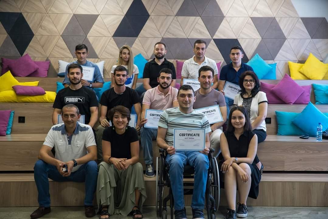 «Առաջընթաց» ծրագրի Web Development առցանց դասընթացի մասնակիցներն ավարտել են կուրսը