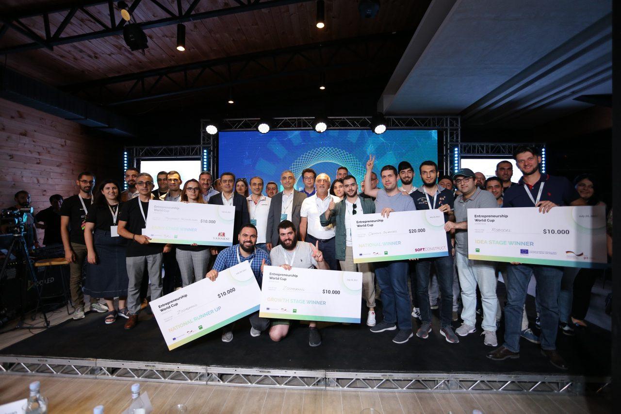 Ձեռներեցության աշխարհի գավաթի ազգային եզրափակիչի հաղթողներն են Denovo Sciences և Zoomerang ստարտափները